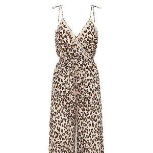 SPELL & The GYPSY Bodhi Leopard Print Jumpsuit
